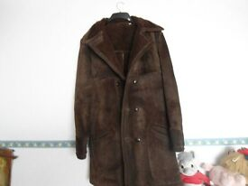 Brown Sheep Skin Coat.