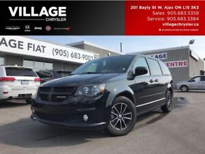 2017 Dodge Grand Caravan GT Leather,Pwr Sliding Doors|Remote