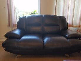 Two Seater Leather Sofa in mint condition