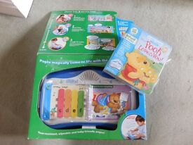 Little Touch Leappad Learning System including Disney Pooh Loves You game
