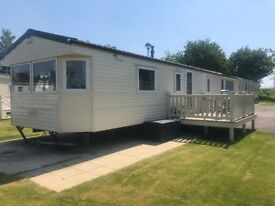 Caravan for private sale at Tattershall Lakes Country Park Lincolnshire near Skegness beach