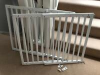Badabulle Color Pop Safety Gate, White