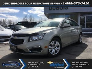 2015 Chevrolet Cruze LT 1LT TURBO + AUTOMATIQUE