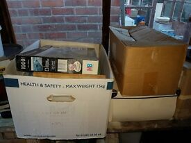 3 boxes of random miscellaneous stuff