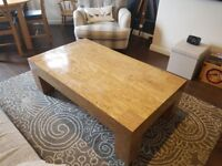 Large Marble Effect Coffee Table