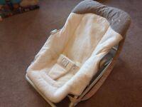 Fleece Baby Rocking Chair