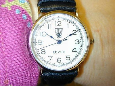 LADIES ROVER WATCH, LEATHER STRAP, NEW (RVM26)