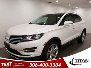 2017 Lincoln MKC Reserve|AWD|NAV|CAM|Leather|Sunroof