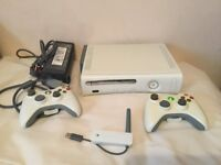 X-Box 360 60GB HDD Console with two Controllers