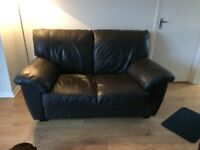 3&2 seater sofas. Brown leather, good condition. Free if you can pick up