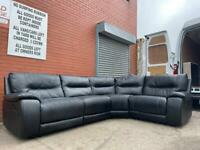 Black lazy boy corner sofa delivery 🚚 sofa suite couch furniture