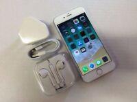 Apple iPhone 6 16GB Silver (Unlocked) + Warranty, NO OFFERS
