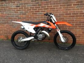 Ktm Sx 125 2016 clean bike going cheap may accept px