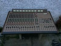Allen & Heath System 8 168 Mixing Desk - 16 Channel, 8 Buss - w/ PSU