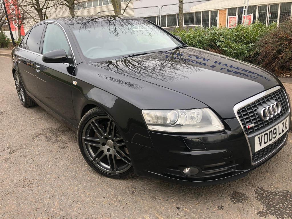 AUDI A6 LE MANS 3 0 TDI 2009 FULLY LOADED SAT NAV HEATED SEATS FULL HISTORY  | in Stratford, London | Gumtree