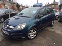 Vauxhall Zafira 1.6 16v,7 seater,,12 MONTHS MOT,77000 MILES ONLY FULL VOSA HISTORY,great family car