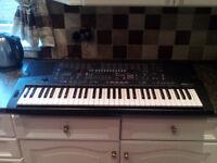 Yamaha PSR-410 Keyboard, 61 Full Size Touch Sensitive Keys