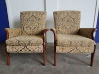 PAIR OF PARKER KNOLL CHAIRS No 749 FIRESIDE CHAIR ARMCHAIRS CHAIR RETRO ARMCHAIR DELIVERU AVAILABLE