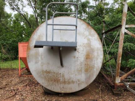 9600litre Diesel Fuel Tank with stand Good Condition