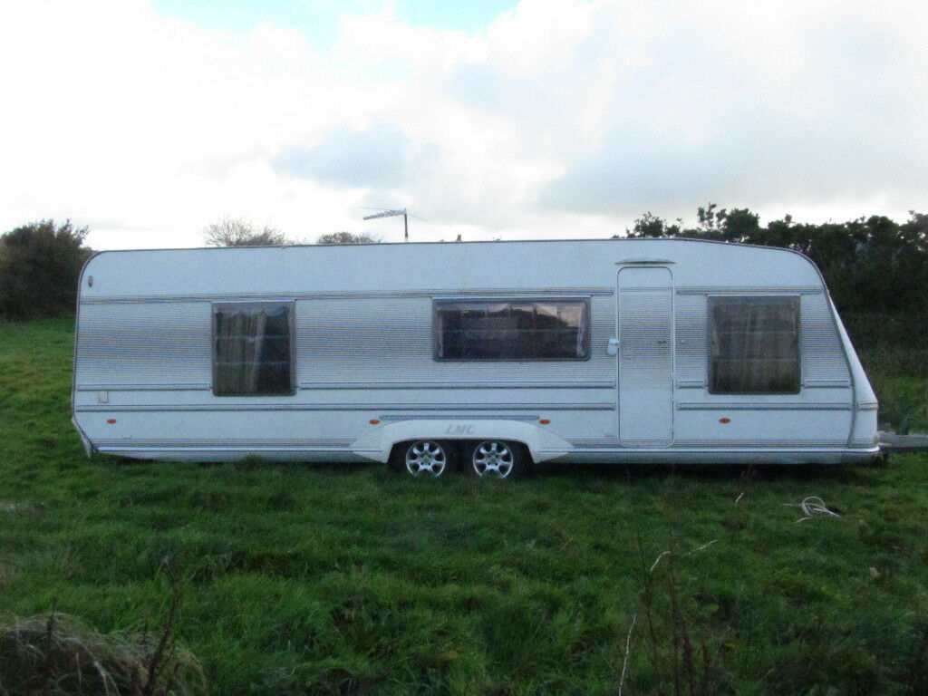 VERY LARGE 2002 LMC TWIN AXLE WITH A FIXED BED | in Liskeard, Cornwall |  Gumtree
