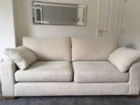 John Lewis high quality three seater sofa