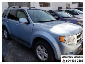 2008 Ford Escape Hybrid; Local BC vehicle! LOW KMS!