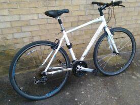 Light weight Trek hybrid bike bicycle good working order serviced 27 speed