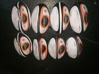 Opro RX1500 rugby balls. Lot of 8