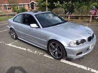 BMW 330ci, M Sport Silver Auto, 2001, 12 months MOT