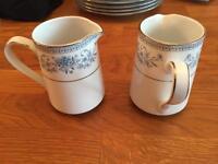 Noritake Blue Hill 2 jugs