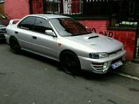 subaru impreza wrx 300bhp import,£135 ins for a year,in excellent condition throughout