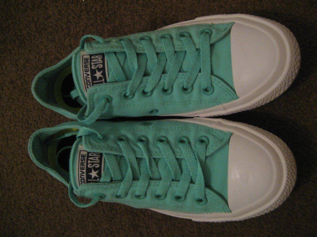 add5cbad2fc96 Converse Chuck Taylor All Stars Size 5 UK 37.5 EU Mint Green