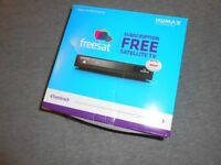 Humax HB-1000S Freesat HD With Freetime Receiver Bundled With A Now TV Box Both Boxed And Tested
