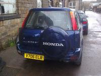 Honda CR-V spare or repair. Engine fault.new brembo breaks,radiator,battery exhaust,drive shafts etc