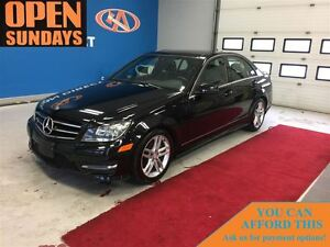 2014 Mercedes-Benz C-Class C300 4MATIC SUNROOF! LEATHER! FINANCE