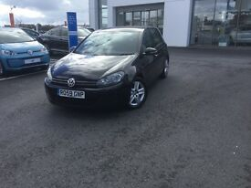 Volkswagen Golf S (mk 6) 2.0 litre TDI in Deep Black Pearlescent