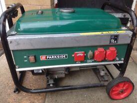 Parkside Generator 2.8 kva
