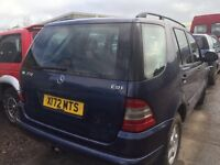 Mercedes ml 270 cdi auto - Spare Parts Available