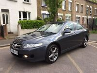 Honda Accord 2.2 i CTDi EX 4dr + LOW MILES + FULL SERVICE HISTORY + LEATHER + HEATED SEATS +