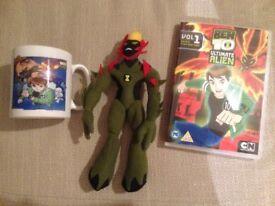 Ben 10 Bundle, Beanie, DVD & Mug