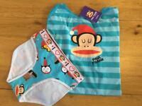 Paul Frank Sleepy Friends vest and short set / pyjamas