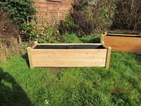 Larch wood Planters