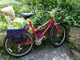 original Raleigh ladies bike,free extras,ready to ride,new tyres etc,excellent condition