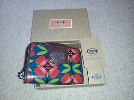 Fossil Keyper Multi Floral Wallet Purse