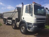 Daf cf85 8x4 Tipper 32 ton 2007 long mot nice lorry ideal export