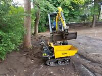 Digger with driver available