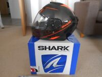 Shark Spartan Carbon Crash Helmet