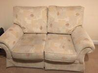 Pair of free 2 seater sofas