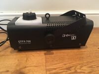 QTX light FX smoke machine QTFX-700 used only twice!