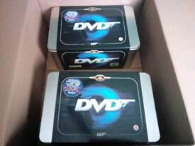 Complete James Bond box set 2 metal tins
